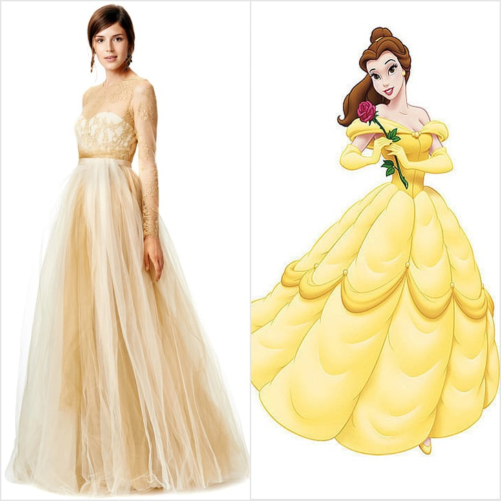 Disney Belle Wedding Dress: Disney Princess Wedding Dresses