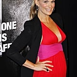 Molly Sims posed in a maxi dress.