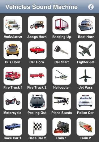 Vehicles Sound Machine ($1)