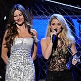 Sofia Vergara and Shakira shared the stage at the Latin Grammys.