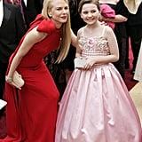 Nicole Kidman snapped a photo with Abigail Breslin.