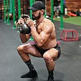 Two-Handed Horned Squat