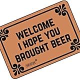 Welcome I Hope You Brought Beer Doormat