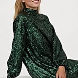 H&M Sequinned Dress