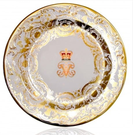 Affordable and elegant, the Victoria & Albert Tin Plate ($10) is inspired by a Worcester plate made in the 1840s.