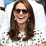 Kate Middleton's Straight Blowout, 2018