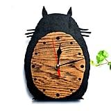 Totoro Wooden Wall Clock ($22)