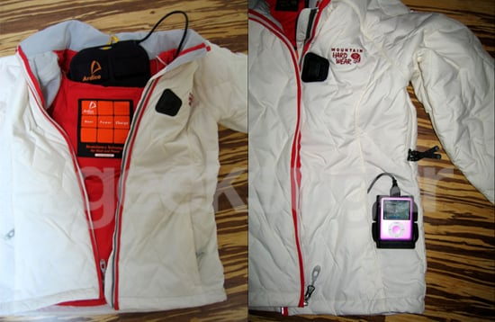 The Radiance Jacket By Mountain Hardwear Keeps You Warm and Charges Your iPod