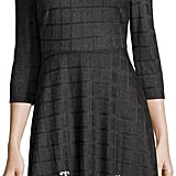 Label by 5twelve Three-Quarter-Sleeve Knit Jacquard Dress ($89)