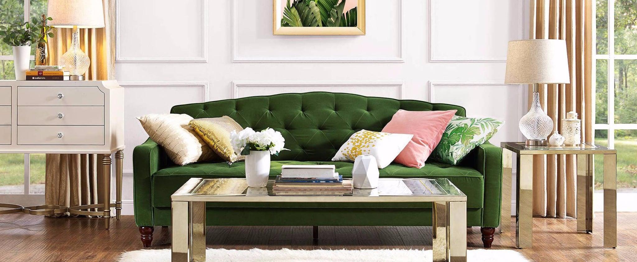 Novogratz Vintage Tufted Sofa Sleeper Review