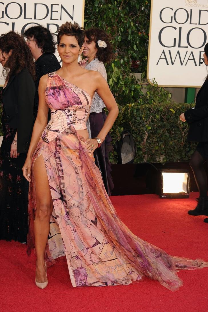 halle berry  memorable golden globe awards dresses