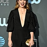Annie Murphy at the 2019 Critics' Choice Awards