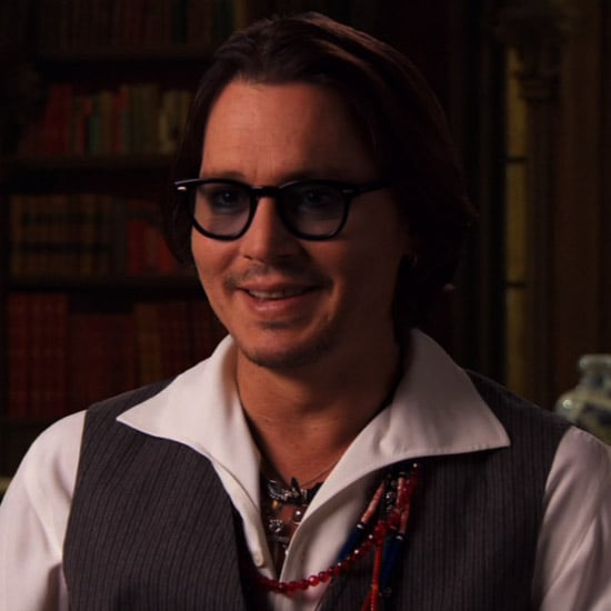 Johnny Depp Dark Shadows Interview (Video)