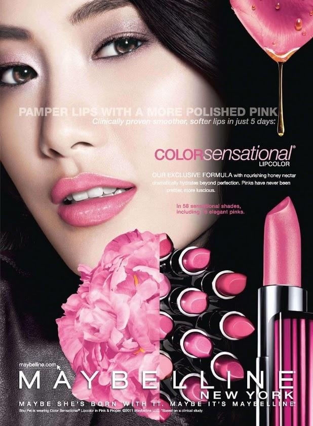 Shu Pei Qin for Maybelline