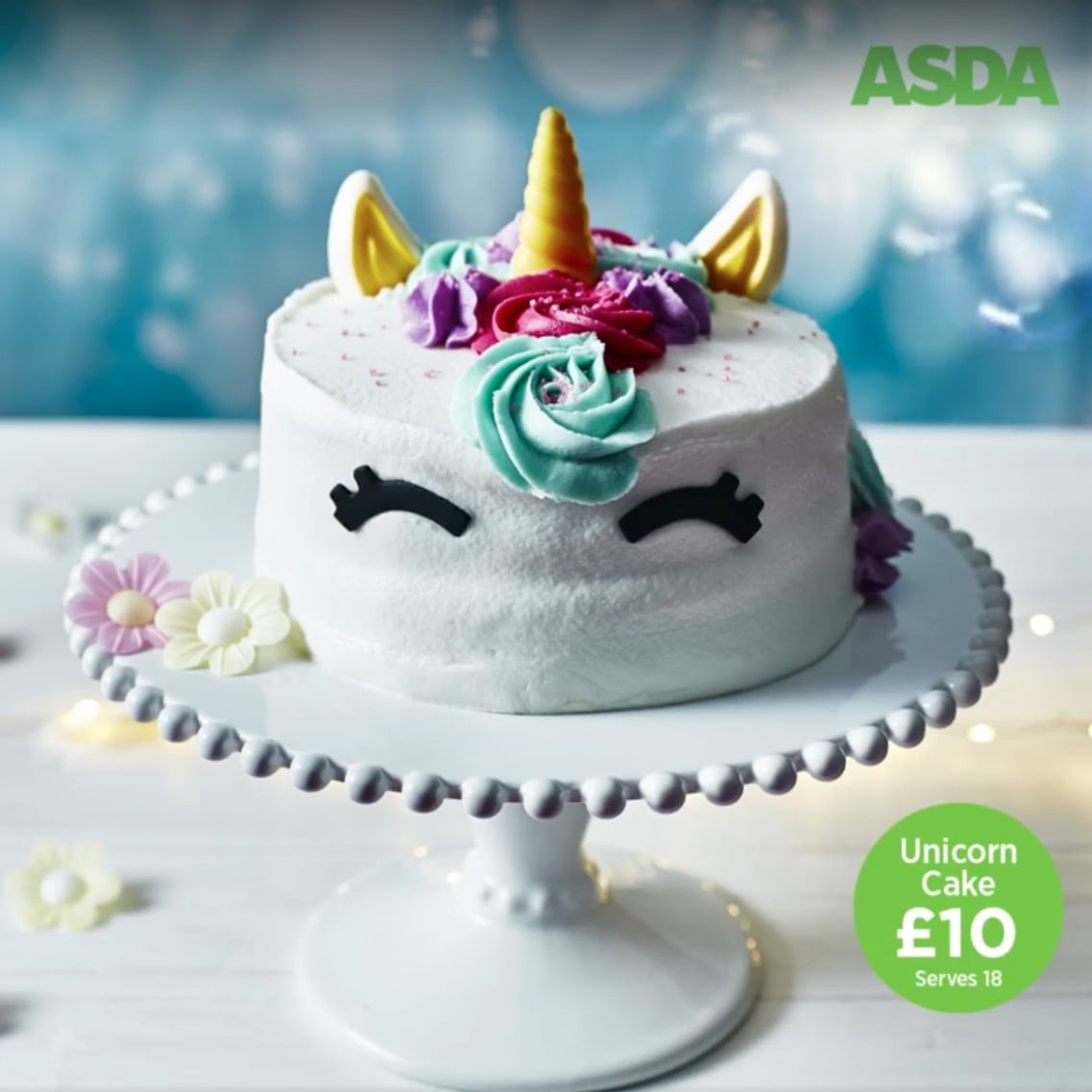 Asda Photo Cake Decorations : photo cakes asda