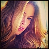 Doutzen Kroes snapped a glamorous selfie. Source: Instagram user doutzenkroes1