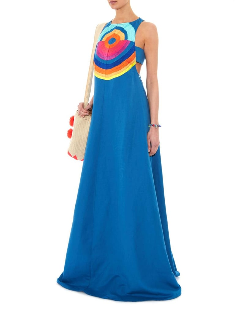 Mara Hoffman Embroidered Cut-Out Maxi Dress ($540)