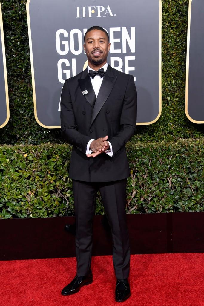Black Panther Cast at Golden Globes 2019 Photos