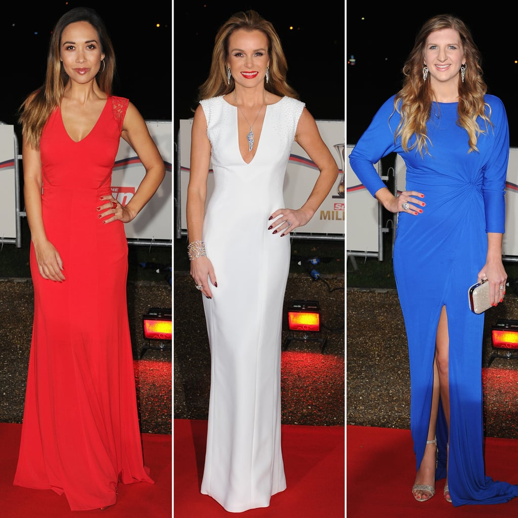 Red Carpet Fashion at The Sun Military Awards