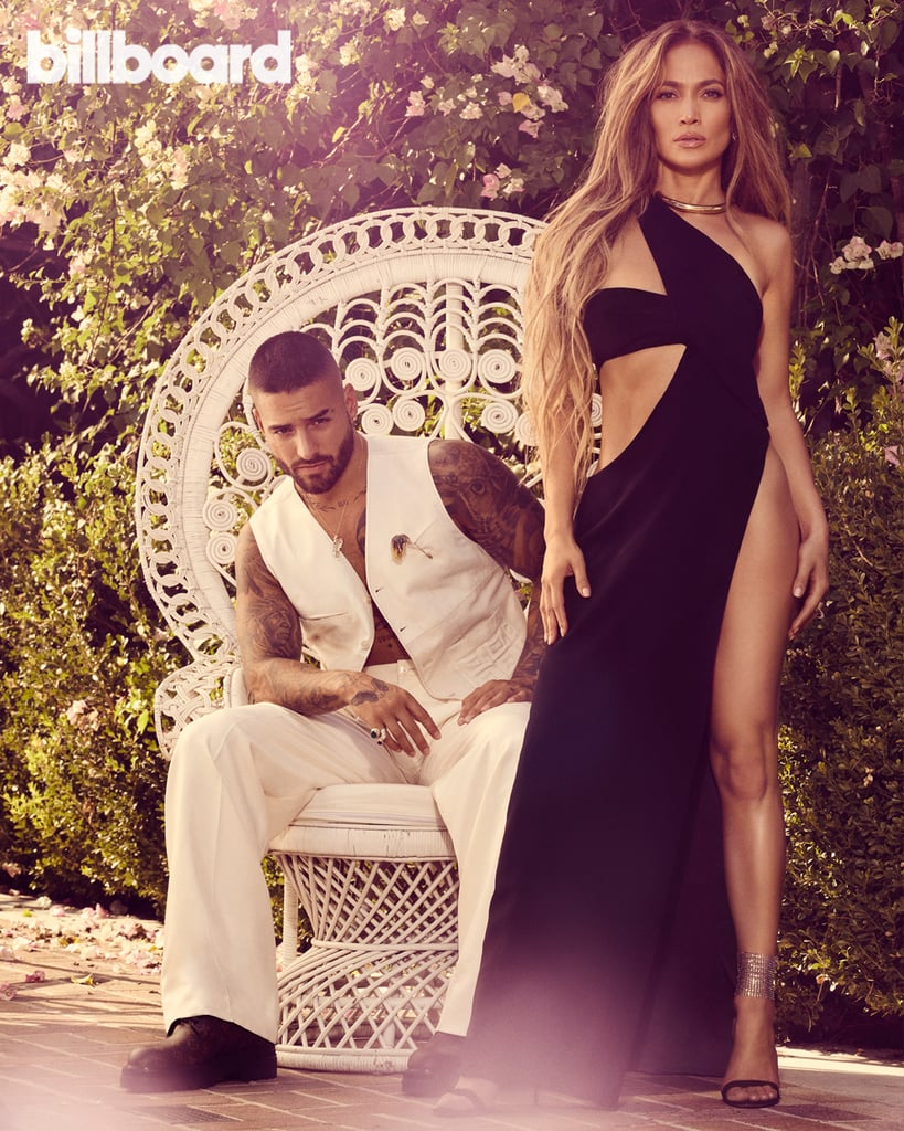 "Maluma and Jennifer Lopez are the stars of Billboard's 2020 Latin Power Players issue, and whew, we're still trying to cool down from their sexy photo spread. In the photos, Lopez and Maluma give us their sultriest looks as they pose around the pool at LA's historic Paramour Estate, and in the accompanying interview, they talk about everything from their upcoming movie together to the importance of representing their Latin identity in music and film. Maluma and Lopez will be starring as Bastian and Kat, respectively, in the upcoming rom-com Marry Me, which centers on Lopez's character, who is a pop star and finds out her fiancé (Maluma) has been cheating on her with her assistant. We recently got a peek at their characters in their ""Pa Ti"" and ""Lonely"" music videos, and while speaking with Billboard, Lopez opened up about the catharsis of playing a pop star. ""I was playing [a character] trying to find someone who understood her and accepted her for all of what her life was but also just saw her as a person — like a real girl, which is what I am,"" she said. ""People see you as this thing, this star. They forget you're just a girl and want to live and laugh and be normal."" ""I always felt that individuality is what made me different."" Lopez also touched on the importance of Latin representation in film, saying, ""It's not common. I've been doing movies for 25 years now, and I've done 40-something movies. There have been three to four movies in my entire career where I've had Latino costars."" Marry Me marks Maluma's first feature film, and he admitted the road to achieving this wasn't easy. ""It has been difficult to get into the American market, but people like Jennifer — who has been working a long time to get people to understand who we are as a community — opened a lot of doors for a lot of artists. I feel grateful for Jennifer,"" he said. For both Lopez and Maluma, it's important to represent their Latin identity in everything they do, whether it be music or movies. ""Everybody knows that I'm a Puerto Rican girl from the Bronx. It's not something I ever tried to hide — or ever thought that I should hide — so I can get ahead. I always felt that individuality is what made me different from every other actress that was out there when I first started. I feel it's the secret to my success,"" Lopez explained.  ""We're making history right now as a Latin community, and I feel very proud of being part of this big, big movement."" The Colombian singer expressed similar sentiments, saying, ""I have a tattoo that says 'Medellín.' I just want to be known around the world as Colombian. Everybody is always saying, 'When are you going to start singing in English?' Why am I going to do it if I'm doing concerts in Romania, Israel, Morocco, the States, and they're singing in Spanish? I want to bring my essence around the world and my essence is singing in Spanish."" In addition to the film, Maluma and Lopez are also working together on the soundtrack for Marry Me, but according to them, this is only the beginning of their partnership. ""I think the J Lo-Maluma movement is just starting. After Marry Me, I think things are going to change a lot,"" Maluma said. ""We're making history right now as a Latin community, and I feel very proud of being part of this big, big movement that we're having right now."" Lopez then added, ""Maybe we'll do a tour together."" Um, yes please!  See Maluma and Lopez's sexy photo shoot ahead, then head over to Billboard to read their full interview.      Related:                                                                                                           J Lo Continues to Prove She's a Queen of TikTok With the New #PaTiChallenge"