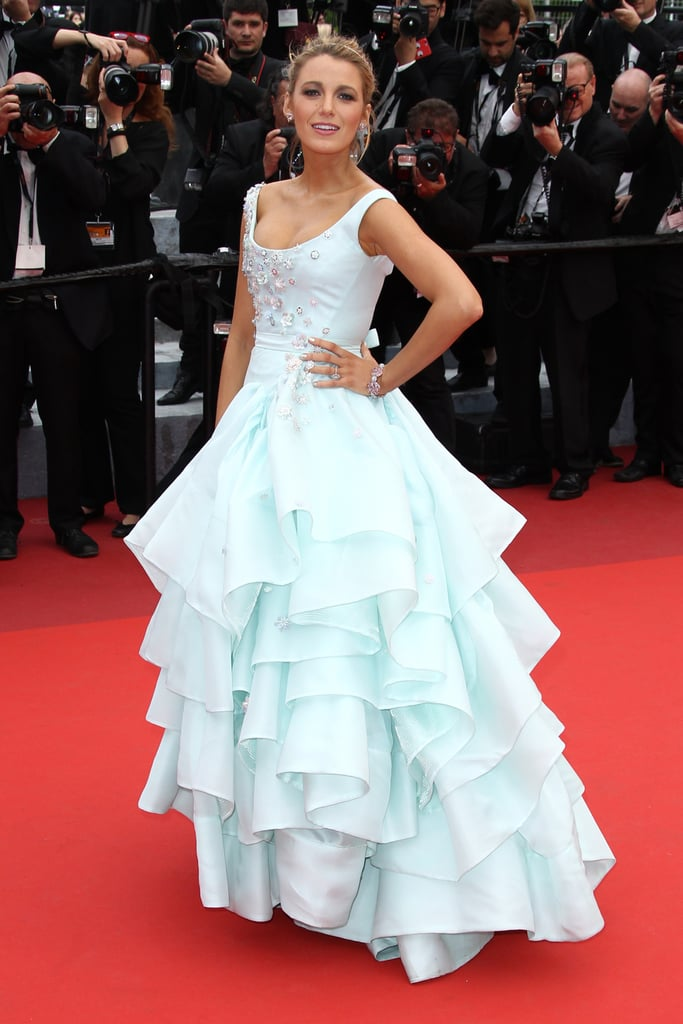 Blake Lively wowed the crowd at the Slack Bay premiere in a princess-worthy ballgown on the festival's third day.