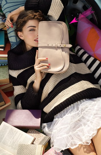 >> Stylists and Current/Elliott designers Emily Current and Meritt Elliott have tried their hands at their first-ever handbag collection, done in collaboration with Kate Spade. Westward for Kate Spade features six bag styles in classic silhouettes — updated with sequins, graphic lining, or broken-in suede — and is now available for pre-order. The collection runs $245 for a wallet to $1,295 for a travel duffle.