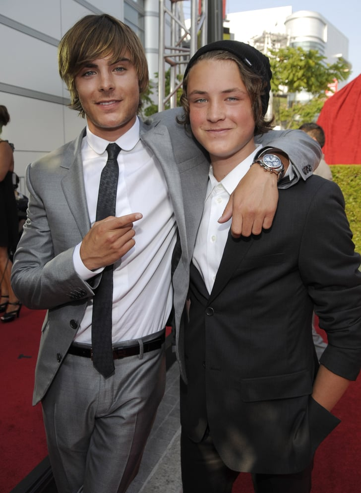 Celebrities With Their Siblings Pictures Popsugar
