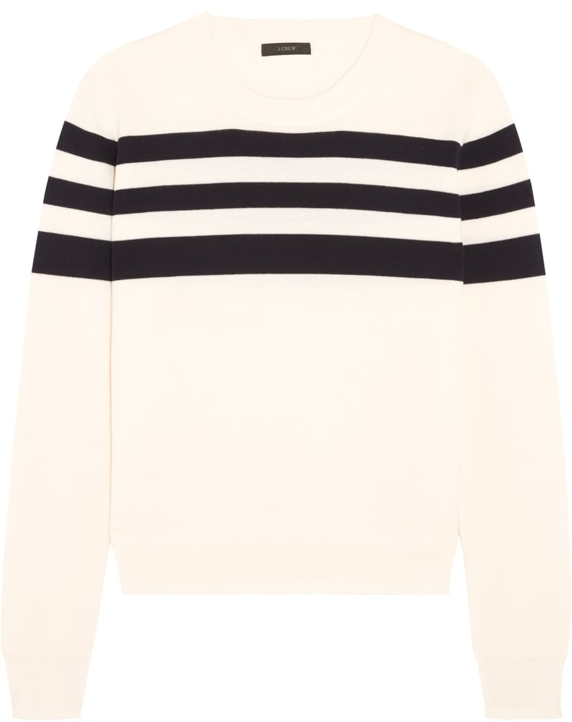 Liv Striped Merino Wool Sweater ($100)