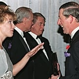 Prince Charles and Emma Thompson
