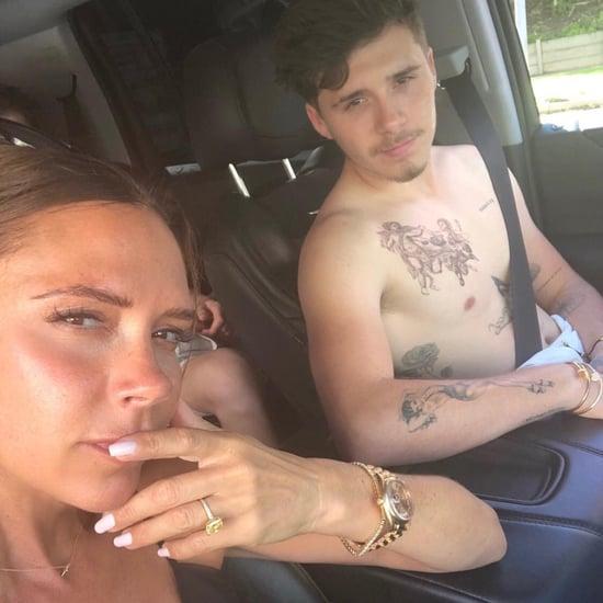 Victoria Beckham Calls Brooklyn Her Uber Driver
