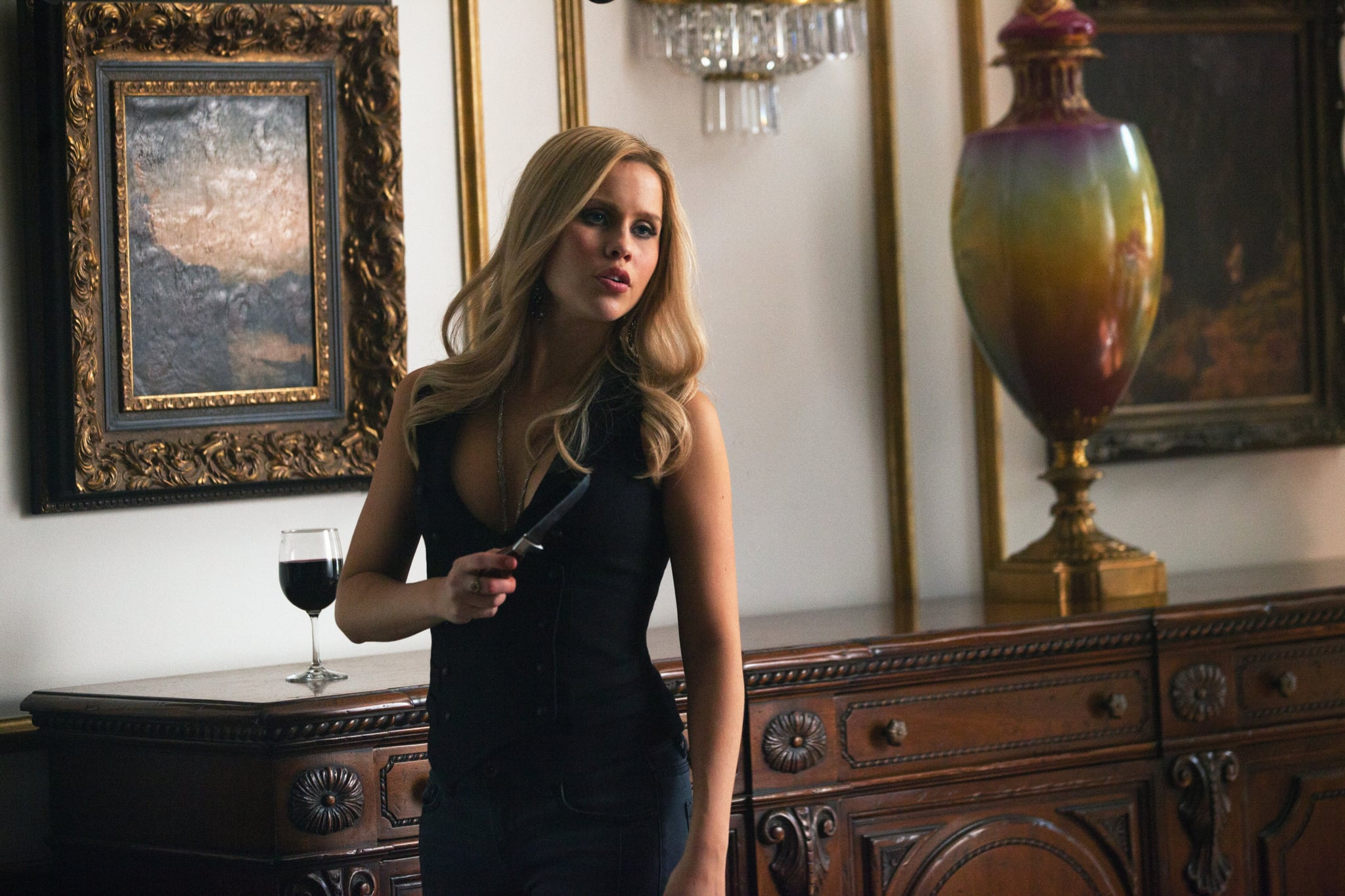 Claire Holt as Rebekah in The Vampire Diaries. | Vampire ...