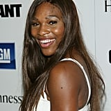 Serena Williams at Jennifer Hudson's Oscar Nominee Party in 2007