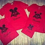 Disney Darth Vader Family Shirts