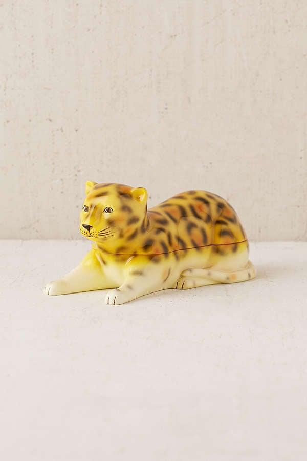 Leopard Stash Box