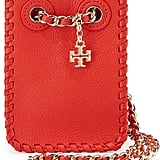 Tory Burch Marion Leather Smartphone Crossbody Bag ($275)