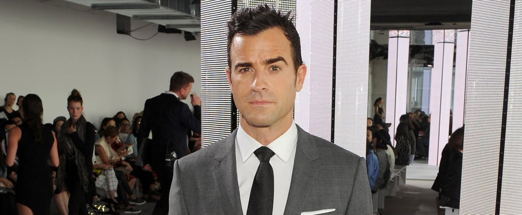 """Justin Theroux on Brad and Angelina's Split: """"That's Terrible News"""""""