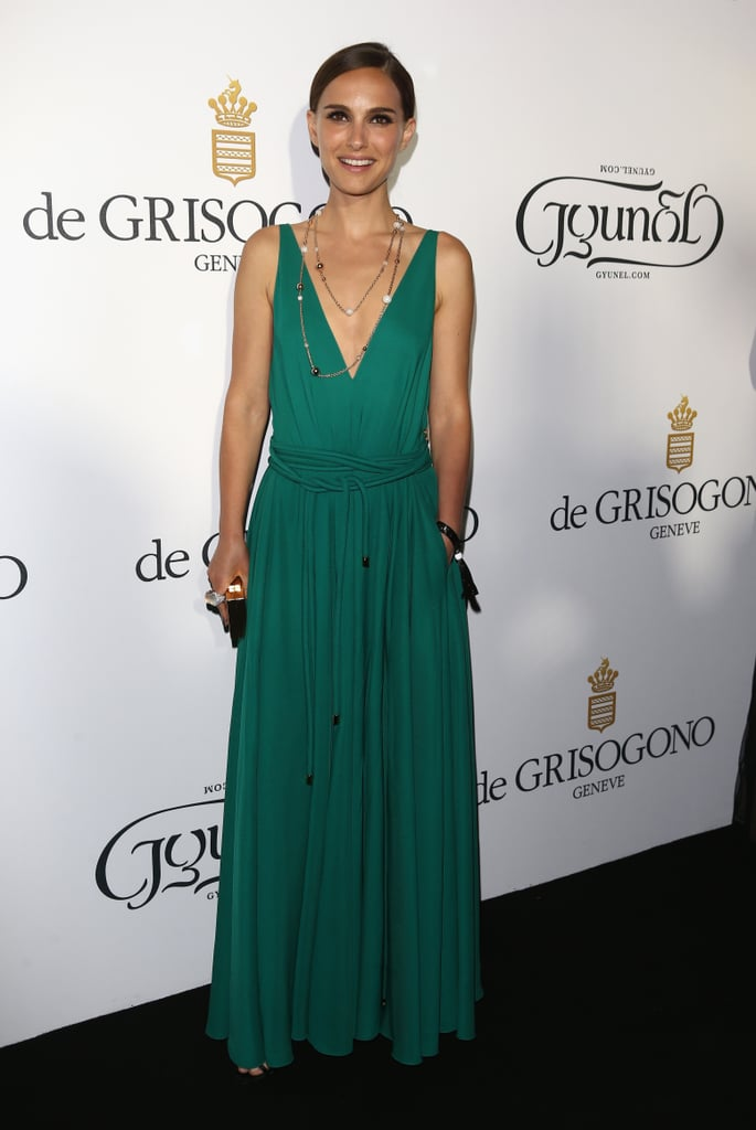 Natalie Portman in Lanvin at the De Grisogono Party — 2015 Cannes Film Festival.