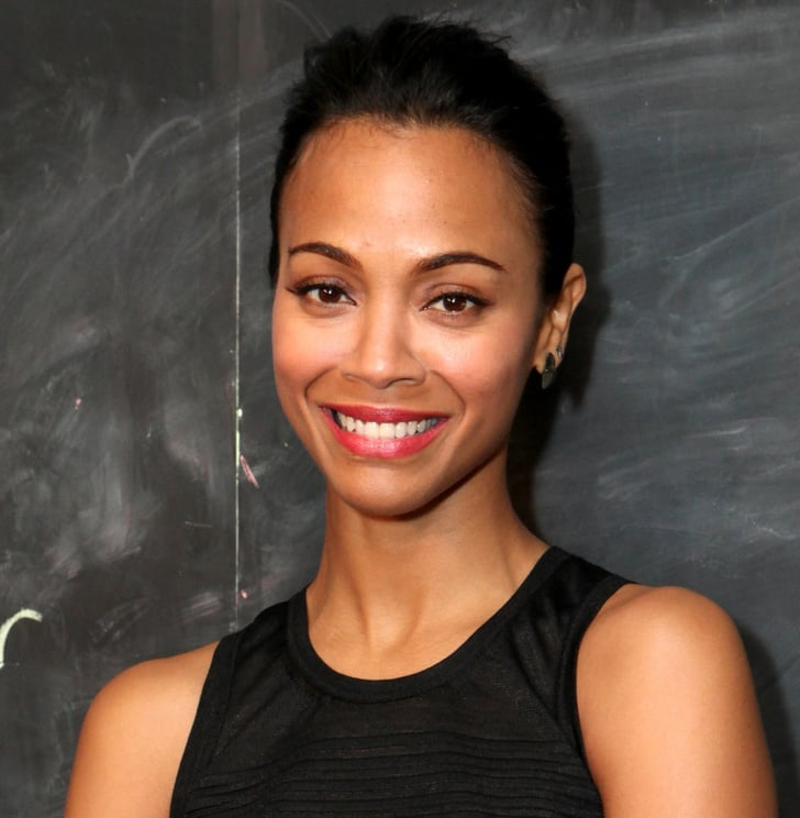 Zoe Saldana's Glowing Skin Took Center Stage With This