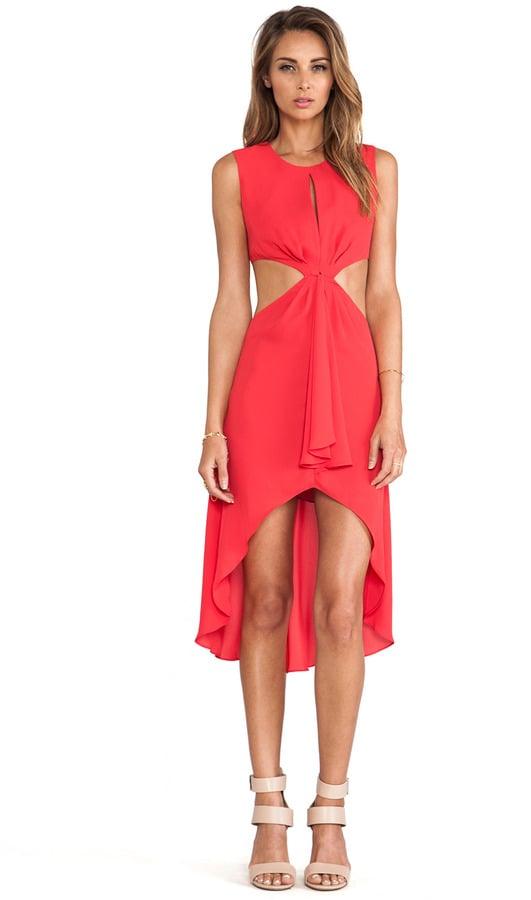 BCBG Max Azria Cutout Dress