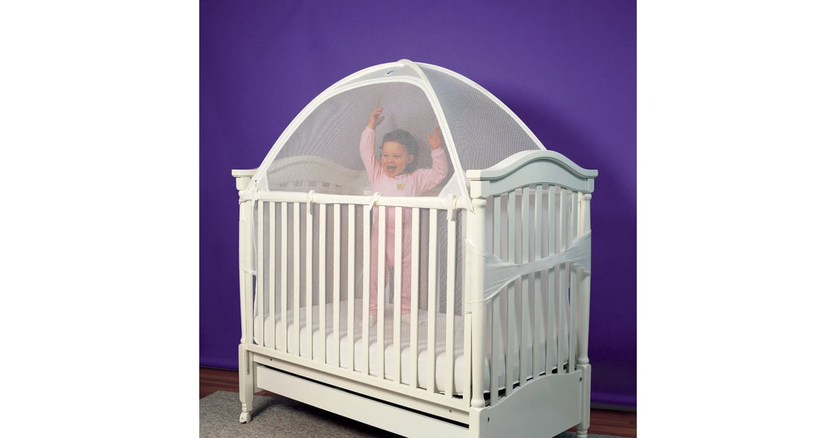Install a Crib Tent | Stop Toddlers From Climbing Out of Crib | POPSUGAR Moms Photo 5  sc 1 st  Popsugar & Install a Crib Tent | Stop Toddlers From Climbing Out of Crib ...