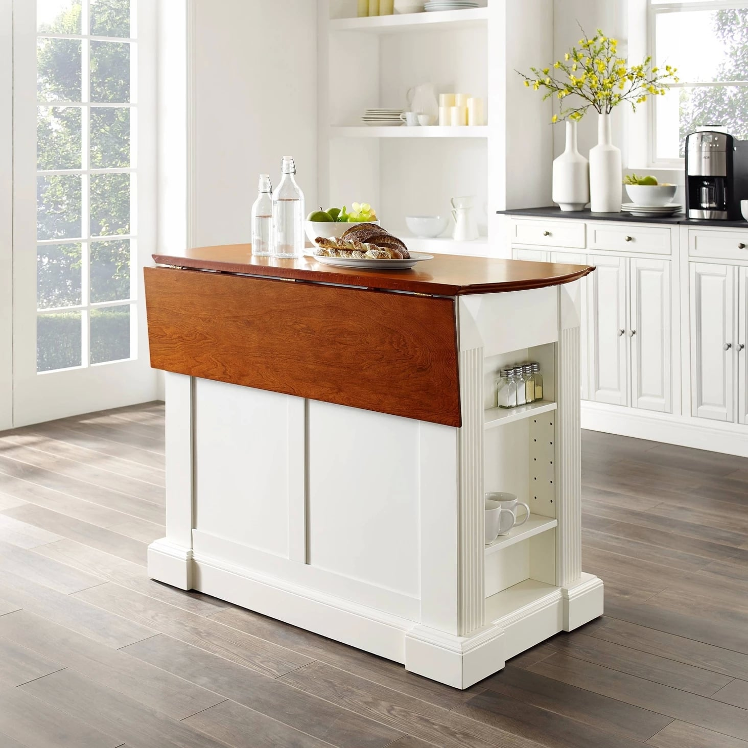 Drop Leaf Breakfast Bar Top Kitchen Island | Keep Your ...