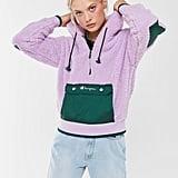Champion UO Exclusive Sherpa Half-Zip Sweatshirt