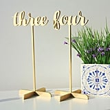 Table Numbers With Base