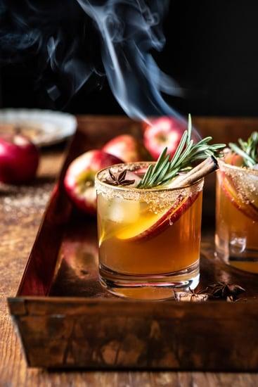 Smoky Harvest Apple Cider Margarita