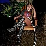 Beyonce Saint Laurent Boots
