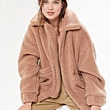 I.AM.GIA UO Exclusive Pixie Teddy Coat