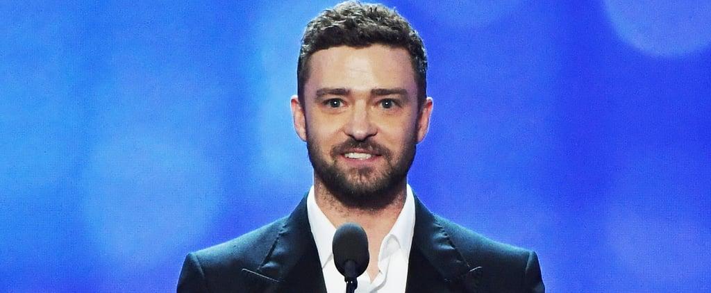 Justin Timberlake Quotes at Critics' Choice Awards 2017