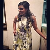 Mindy Kaling made a stylish appearance on the Today show. Source: Instagram user mindykaling