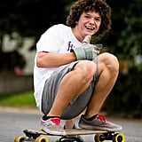 """""""Robbie loves longboarding, and has started to make his own boards. This was taken earlier this Fall."""""""