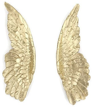 Gold Angel Wings U2014 Angel Wing Wall Decor